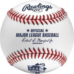 【セール】MLB レッドソックス デービッド・オルティス 500本塁打 記念 ボール ローリングス/Rawlings|selection-j