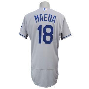 MLB ドジャース 前田健太 ユニフォーム/ジャージ 選手着用 オーセンティック マジェスティック/Majestic ロード|selection-j