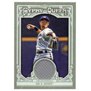 MLB ブリュワーズ 青木宣親 2013 ジャージ カード トップス/Topps レアアイテム【1909プレミア】 selection-j
