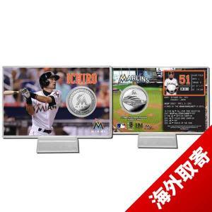 MLB マーリンズ イチロー シルバーコイン カード ハイランドミント/The Highland Mint|selection-j
