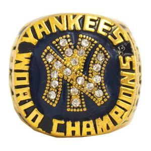 MLB ヤンキース 1977 ワールドシリーズ レプリカチャンピオンリング SGA レアアイテム【1909プレミア】 selection-j