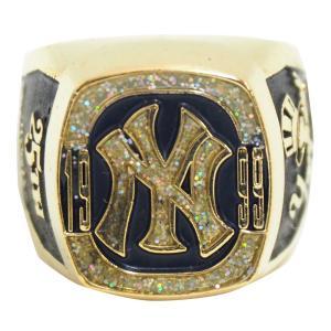 MLB ヤンキース 1999 ワールドシリーズ レプリカチャンピオンリング SGA レアアイテム【1909プレミア】 selection-j