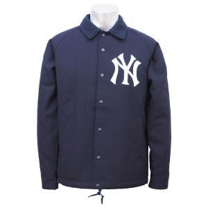 MLB ヤンキース ウール コーチジャケット ニューエラ/New Era ネイビー|selection-j