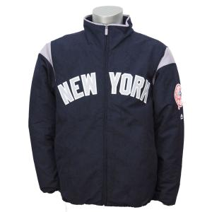 MLB ヤンキース オーセンティック オンフィールド プレミア ジャケット マジェスティック/Majestic Navy/Gray|selection-j