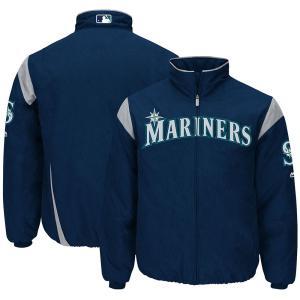 MLB マリナーズ オーセンティック オンフィールド プレミア ジャケット マジェスティック/Majestic ネイビー|selection-j