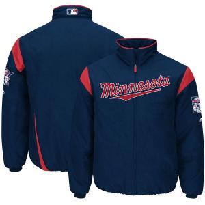 MLB ツインズ オーセンティック オンフィールド プレミア ジャケット マジェスティック/Majestic ネイビー|selection-j