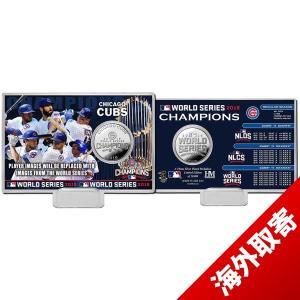 お取り寄せ MLB カブス 2016 ワールドシリーズ優勝記念 シルバーコイン コレクターカード ハイランドミント/The Highland Mint|selection-j