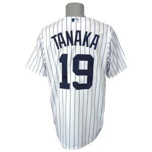 MLB ヤンキース 田中将大 クールベース レプリカ ユニフォーム マジェスティック/Majestic ホーム|selection-j