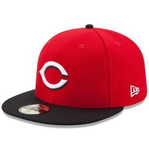 MLB レッズ オーセンティック オンフィールド 59FIFTY キャップ/帽子 ニューエラ/New Era ロード|selection-j