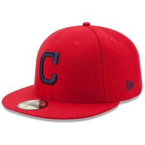 MLB インディアンス オーセンティック オンフィールド 59FIFTY キャップ/帽子 ニューエラ/New Era オルタネート|selection-j