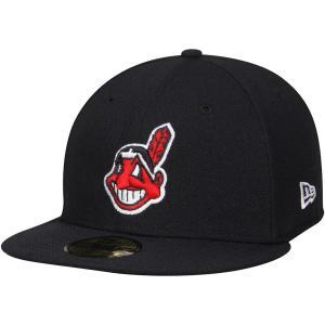 MLB インディアンス オーセンティック オンフィールド 59FIFTY キャップ/帽子 ニューエラ/New Era オルタネート2【ワフー酋長ロゴ】|selection-j