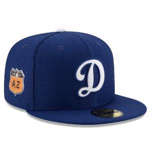 MLB ドジャース 2017 スプリングトレーニング ダイアモンド エラ 59FIFTY キャップ/帽子 ニューエラ/New Era ゲーム【1902MLBセール】|selection-j