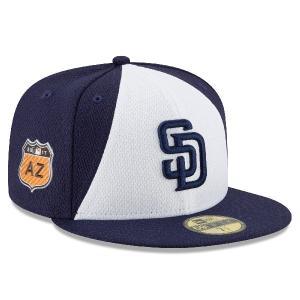 お取り寄せ MLB パドレス 2017 スプリングトレーニング ダイアモンド エラ 59FIFTY キャップ/帽子 ニューエラ/New Era|selection-j