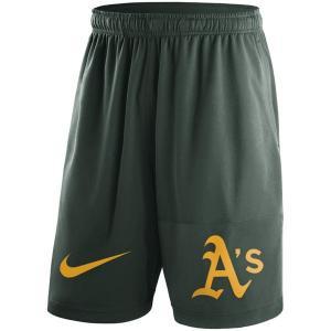 お取り寄せ MLB アスレチックス ドライ ショーツ ナイキ/Nike グリーン selection-j