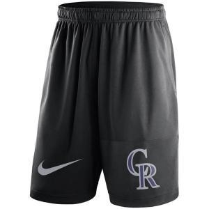 お取り寄せ MLB ロッキーズ ドライ ショーツ ナイキ/Nike ブラック selection-j