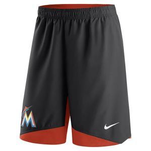 MLB マーリンズ オーセンティック コレクション ドライ ウーブン パフォーマンス ショーツ ナイキ/Nike ブラック|selection-j