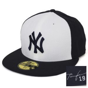 MLB ヤンキース 田中将大 オーセンティック ダイヤモンドエラ BP シグネチャー キャップ/帽子 ニューエラ/New Era ホーム|selection-j