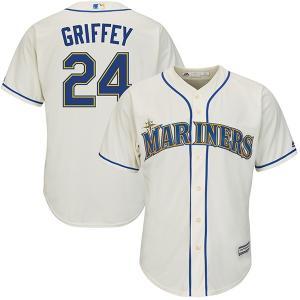 お取り寄せ MLB マリナーズ ケン・グリフィーJR. クールベース レプリカ ユニフォーム マジェスティック/Majestic オルタネート|selection-j
