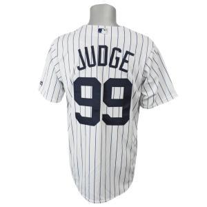 MLB ヤンキース アーロン・ジャッジ クールベース レプリカ ゲーム ユニフォーム マジェスティック/Majestic ホーム|selection-j