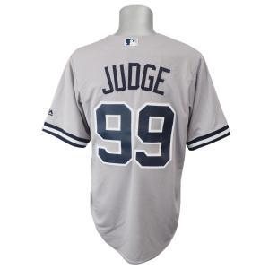 MLB ヤンキース アーロン・ジャッジ クールベース レプリカ ゲーム ユニフォーム マジェスティック/Majestic ロード|selection-j