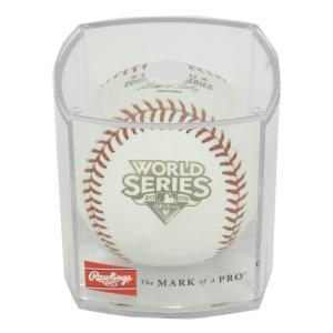 MLB ヤンキース 2009 ワールドシリーズ オフィシャル ゲーム ボール ローリングス/Rawlings レアアイテム|selection-j