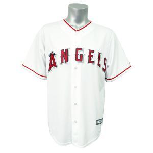 MLB エンゼルス クールベース レプリカ ゲーム ユニフォーム/ユニホーム マジェスティック/Majestic ホーム|selection-j