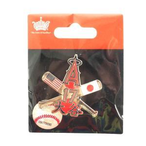 大谷翔平 MLB エンゼルス ピンバッジ/ピンズ クロスドピン Aminco 【18112WAYセール】|selection-j