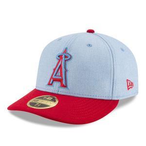 MLB エンゼルス 選手着用 キャップ/帽子 2018 ファザーズデイ ロープロファイル ニューエラ/New Era【1909セール】|selection-j