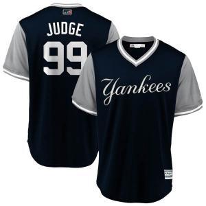 MLB ヤンキース アーロン・ジャッジ ユニフォーム/ジャージ 2018 プレーヤーズ・ウィークエンド レプリカ|selection-j