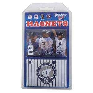 MLB ヤンキース デレク・ジーター DJR2 2x3 マグネット 2Pack ウィンクラフト/WinCraft selection-j