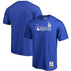MLB ドジャース Tシャツ 2019 オーセンティックSS マジェスティック/Majestic ロイヤル selection-j