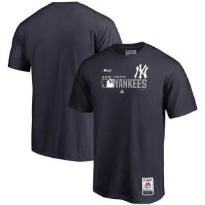MLB ヤンキース Tシャツ 2019 オーセンティックSS マジェスティック/Majestic ネイビー|selection-j