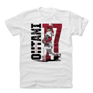 大谷翔平 MLB エンゼルス Tシャツ Player Art Cotton 500Level ホワイト【1910セール】|selection-j