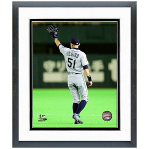 MLB マリナーズ イチロー フォトフレーム デザイン ファイナルゲーム 3/2|selection-j