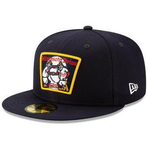 MLB ツインズ キャップ/帽子 2019 リトルリーグ クラシック 59FIFTY ニューエラ/New Era ネイビー|selection-j