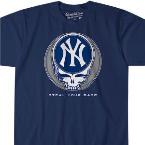 MLB ニューヨーク・ヤンキース Tシャツ ユア ベース アスレティック ティール|selection-j