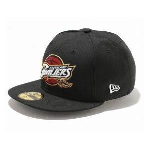 NBA キャバリアーズ キャップ/帽子 ブラック ニューエラ 5950 Primary Logo キャップ|selection-j