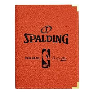 NBA A4バインダー オレンジ スポルディング/SPALDING|selection-j