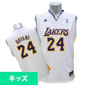 NBA レイカーズ コービー・ブライアント キッズユニフォーム オルタネート Adidas selection-j