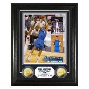 NBA マーベリックス ダーク・ノビツキー フォトフレーム ハイランドミント 2011 NBA Finals Dirk Nowitzki MVP 24KT Gold Coin Photo Mint|selection-j