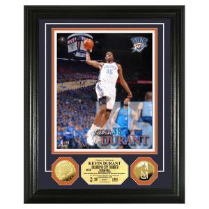 NBA サンダー ケビン・デュラント フォトフレーム ハイランドミント Kevin Durant Gold Coin Photo Mint|selection-j