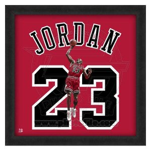 NBA ブルズ マイケル・ジョーダン フォト ファイル/Photo File UNIFRAME 20 x 20 Framed Photographic|selection-j