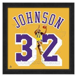 NBA レイカーズ マジック・ジョンソン フォト ファイル/Photo File UNIFRAME 20 x 20 Framed Photographic|selection-j