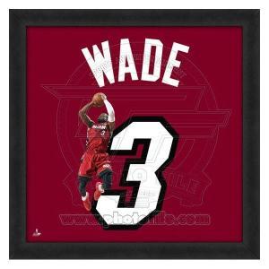 NBA ヒート ドウェイン・ウェイド フォト ファイル/Photo File UNIFRAME 20 x 20 Framed Photographic|selection-j