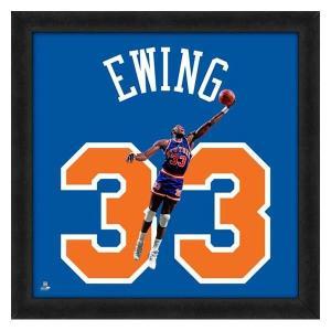 NBA ニックス パトリック・ユーイング フォト ファイル/Photo File UNIFRAME 20 x 20 Framed Photographic|selection-j