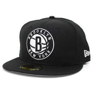 NBA ネッツ キャップ/帽子 ブラック ニューエラ 5950 Secondary Logo キャップ selection-j