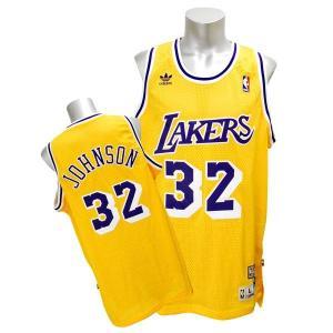 NBA レイカーズ マジック・ジョンソン ユニフォーム ホーム アディダス Soul Swingman ユニフォーム selection-j