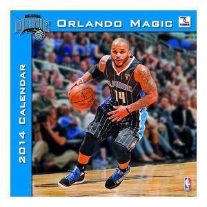 NBA マジック カレンダー JFターナー/JF Turner 2014 12×12 TEAM WALL カレンダー|selection-j