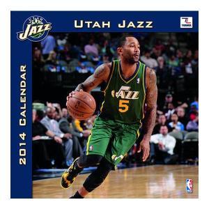 NBA ジャズ カレンダー JFターナー/JF Turner 2014 12×12 TEAM WALL カレンダー selection-j