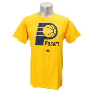NBA ペイサーズ Tシャツ ゴールド アディダス Full Primary Logo Short Sleeve Tシャツ|selection-j